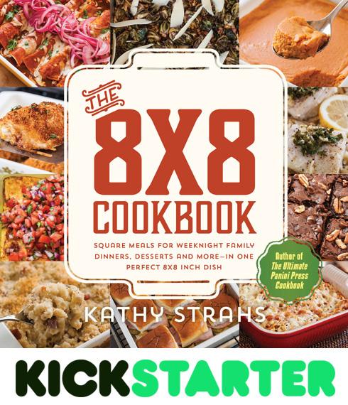 Back The 8x8 Cookbook on Kickstarter!